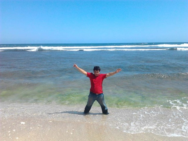 ki Salim at Somandeng Beach