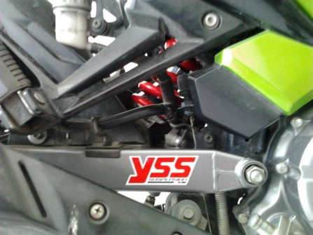 YSS Monoshock Z Series terpasang di Yamaha Jupiter MX saya