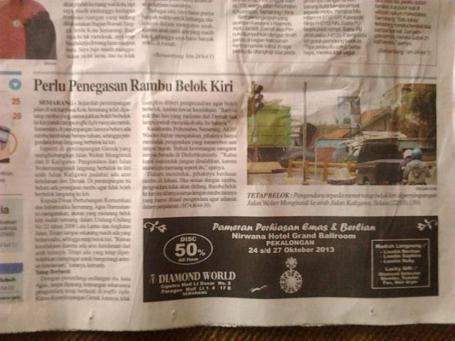 Edisi Cetak tgl 23 oktober 2013