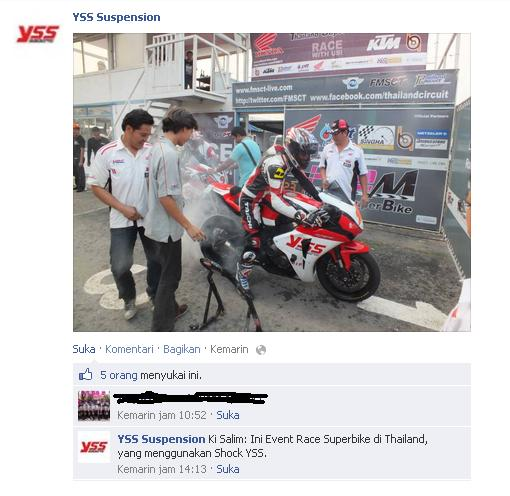 YSS Superbike Thailand